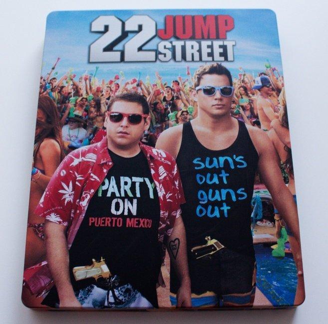 22 Jump Street (BLU-RAY) - STEELBOOK