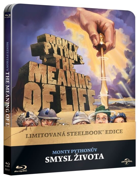 Monty Pythonův smysl života (BLU-RAY) - STEELBOOK