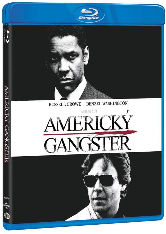 Americký gangster (BLU-RAY) - edice Nezapomenutelné filmy 2015