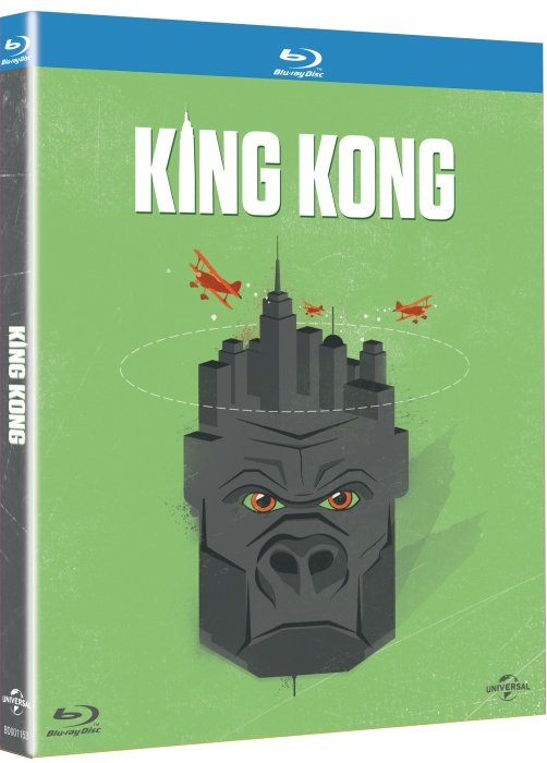 King Kong (2005) (BLU-RAY) - edice Nezapomenutelné filmy 2015