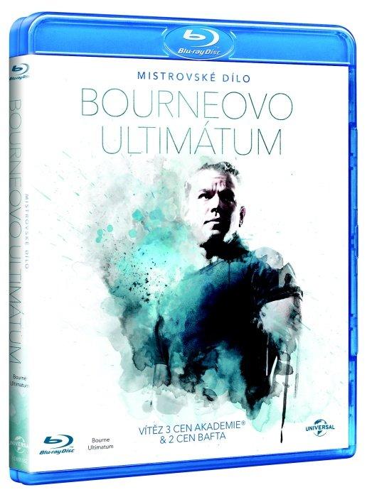 Bourneovo ultimátum (BLU-RAY) - edice MISTROVSKÁ DÍLA