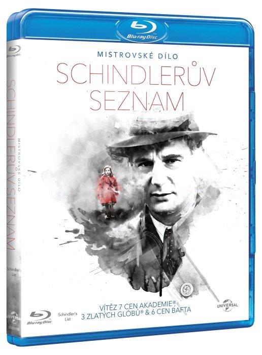Schindlerův seznam (1xBLU-RAY+1xBONUS DVD) - edice MISTROVSKÁ DÍLA