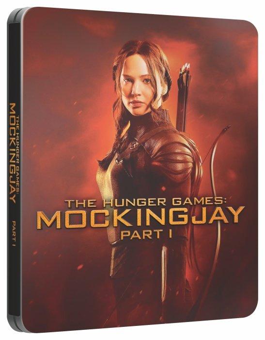 Hunger Games: Síla vzdoru - 1. část (BLU-RAY) - STEELBOOK