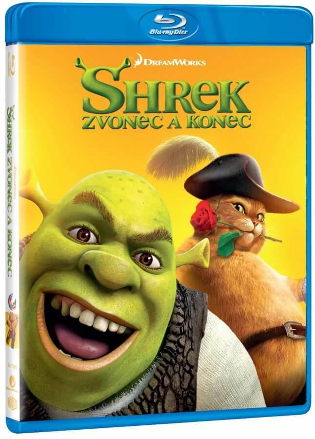 Shrek: Zvonec a konec (BLU-RAY)