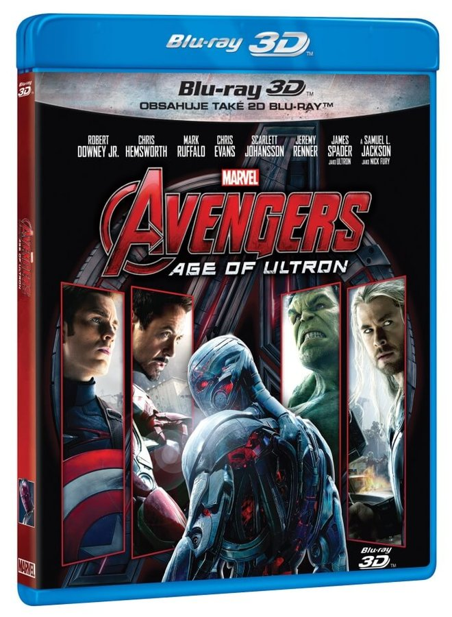Avengers: Age of Ultron (2D+3D) (2xBLU-RAY)