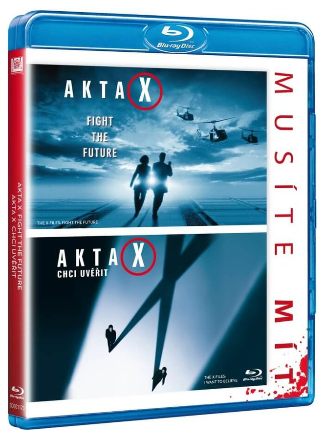 Akta X kolekce (Akta X, Akta X: Chci uvěřit) - 2 BLU-RAY - prodloužené verze