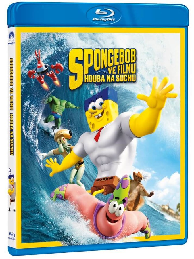 SpongeBob ve filmu: Houba na suchu (BLU-RAY)