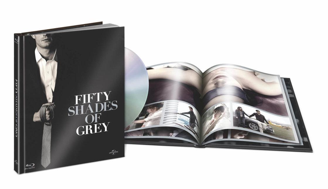 Padesát odstínů šedi (BLU-RAY) - DIGIBOOK (limitovaná edice)