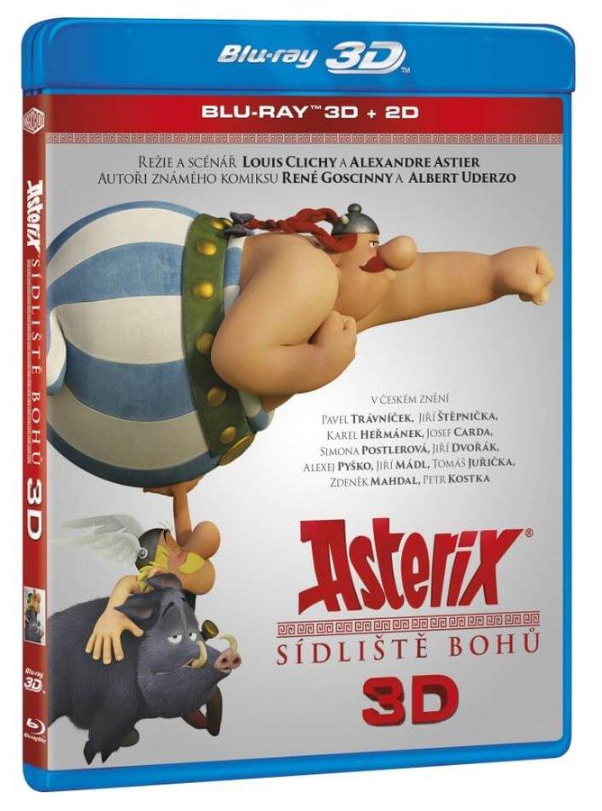 Asterix: Sídliště bohů (2D+3D) (BLU-RAY)