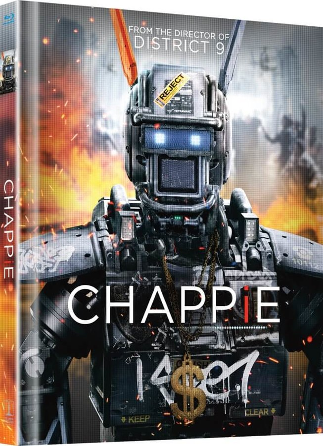 Chappie (2xBLU-RAY) - DIGIBOOK