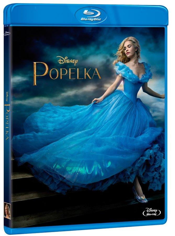 Popelka (BLU-RAY) - nové filmové zpracování 2015