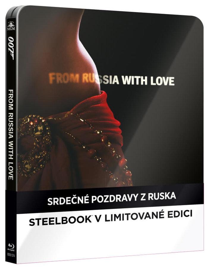 Srdečné pozdravy z Ruska (BLU-RAY) - STEELBOOK