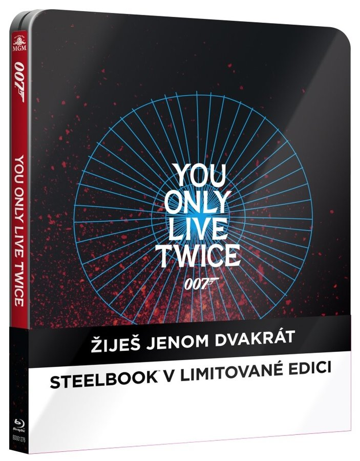 Žiješ jenom dvakrát (BLU-RAY) - STEELBOOK