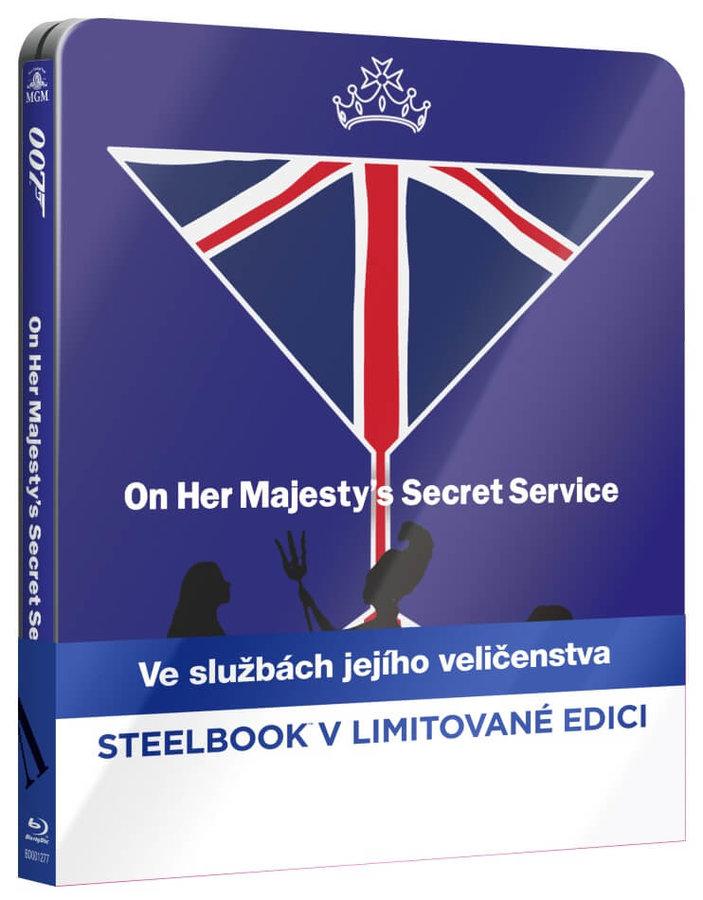 Ve službách jejího veličenstva (BLU-RAY) - STEELBOOK