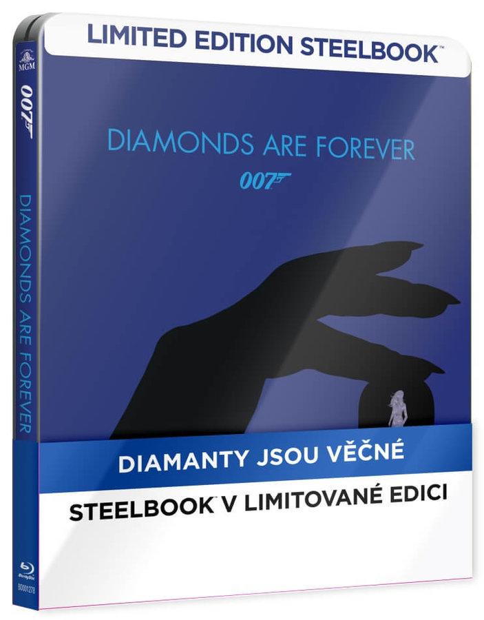 Diamanty jsou věčné (BLU-RAY) - STEELBOOK