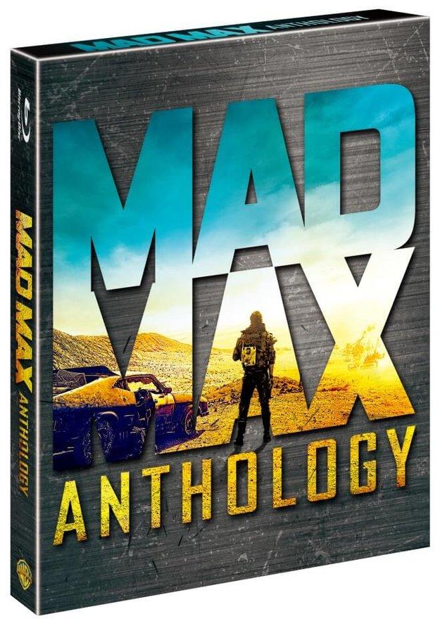 Šílený Max Antologie (4xBLU-RAY, DVD bonus)