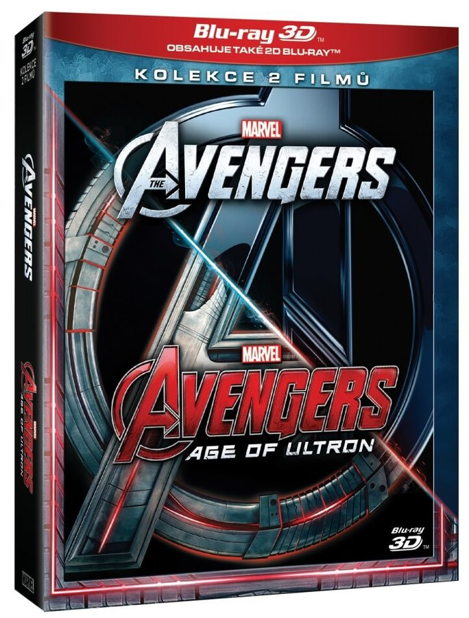 Avengers kolekce 1-2 (4xBLU-RAY) (3D+2D)