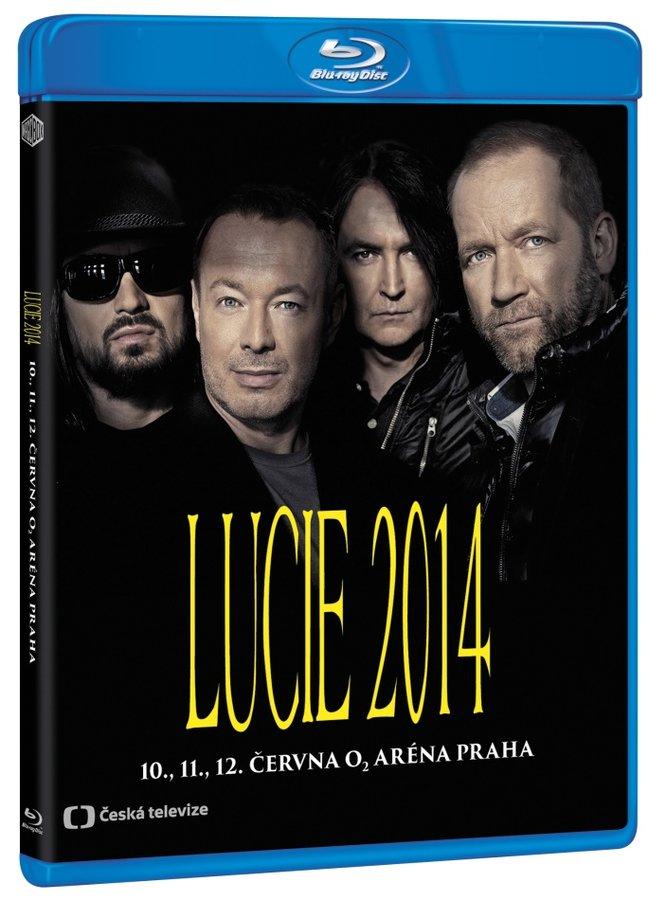 Lucie 2014 (BLU-RAY) - záznam koncertu z O2 arény v Praze