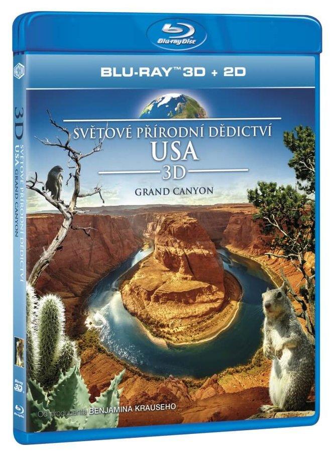 Světové přírodní dědictví: USA - Grand Canyon (2D+3D) (BLU-RAY)