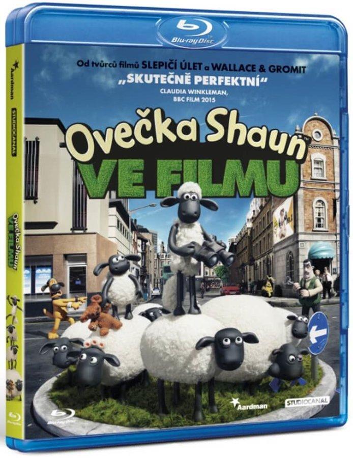 Ovečka Shaun ve filmu (BLU-RAY)
