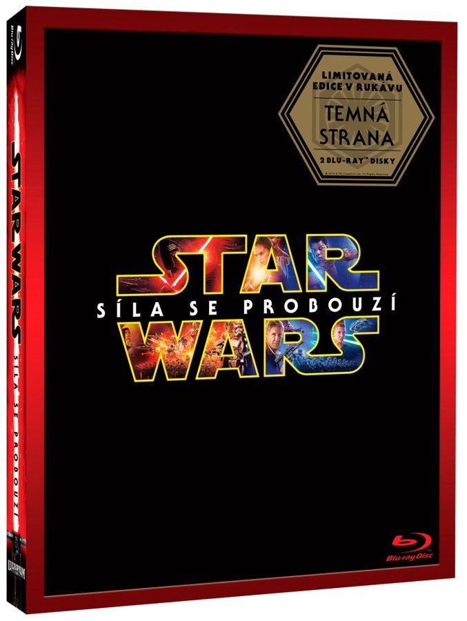 Star Wars: Síla se probouzí (2xBLU-RAY) - DARKSIDE - limitovaná edice