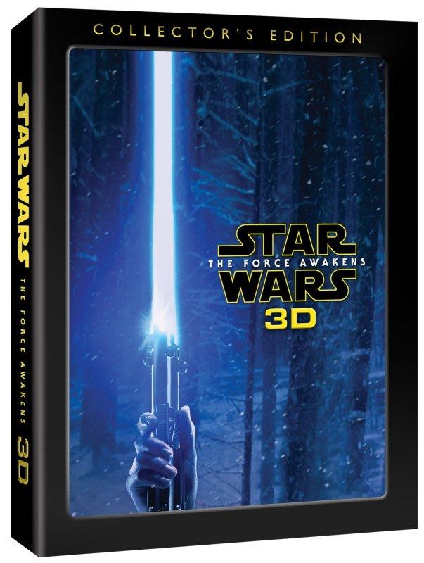Star Wars: Síla se probouzí (2D+3D) (3xBLU-RAY) - limitovaná sběratelská edice