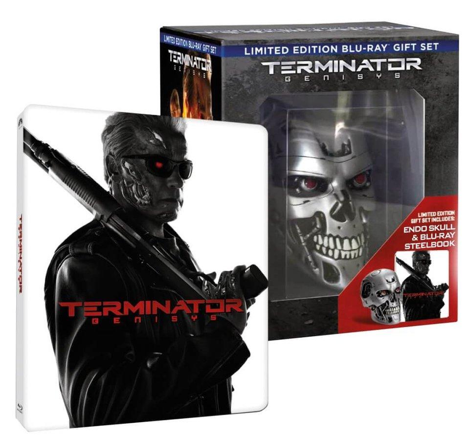 Terminator Genisys (2D+3D) (2xBLU-RAY+BD BONUS) STEELBOOK - LEBKA - sběratelské balení