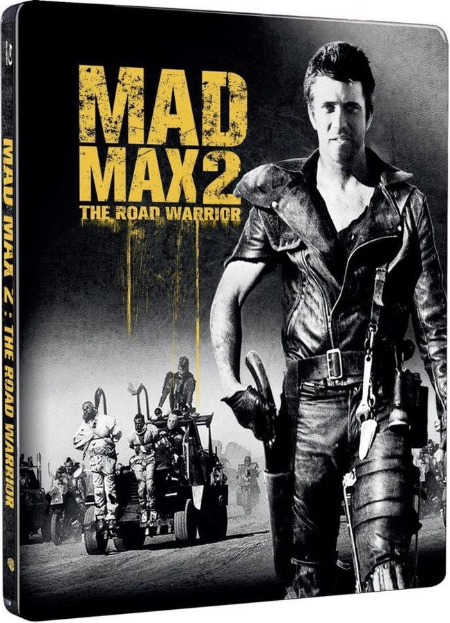 Šílený Max 2: Bojovník silnic (BLU-RAY) - STEELBOOK (DOVOZ)