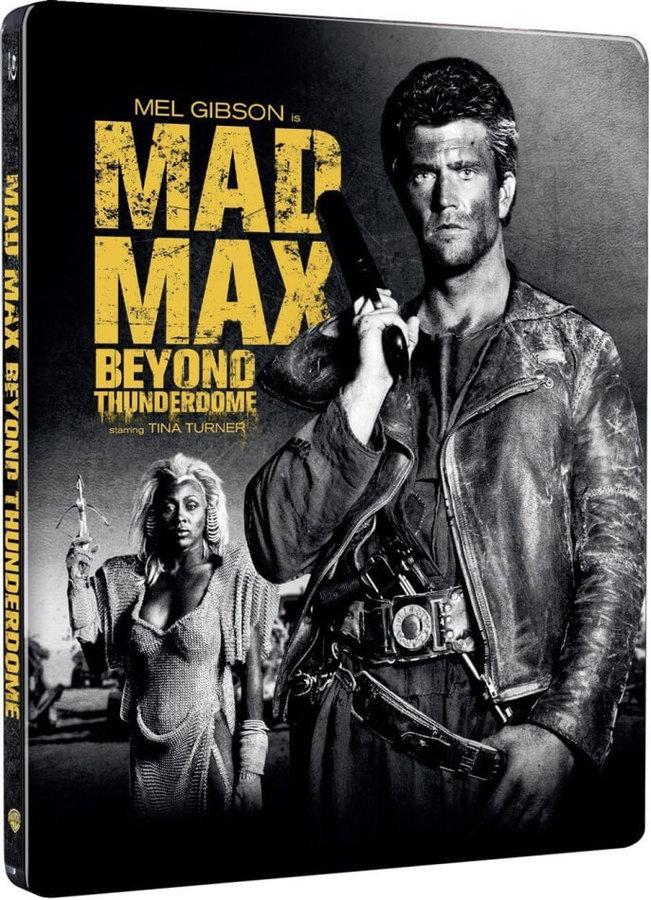 Šílený Max 3: Dóm Hrómů (BLU-RAY) - STEELBOOK (DOVOZ)