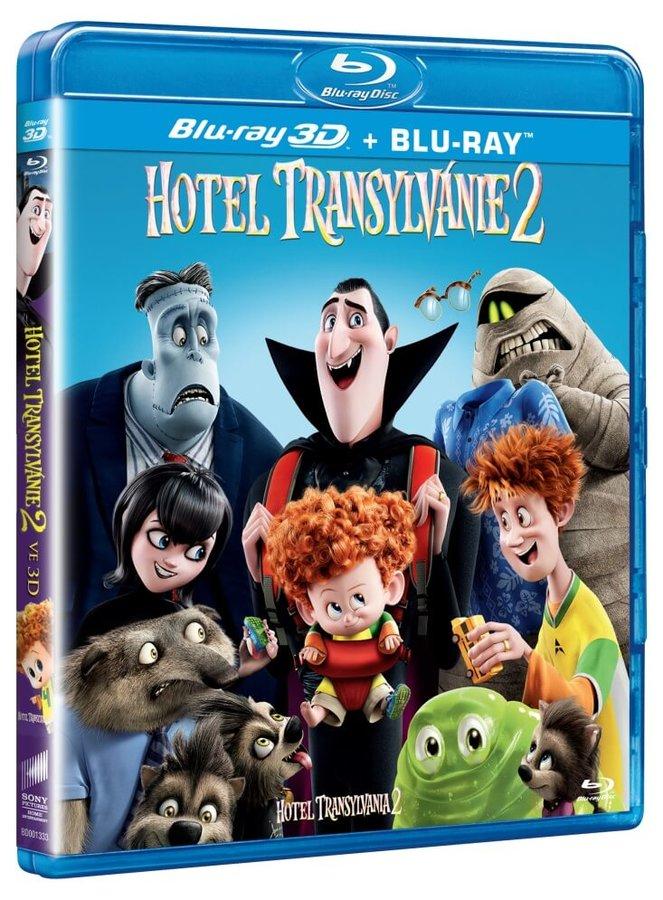 Hotel Transylvánie 2 (2D+3D) (2 BLU-RAY)