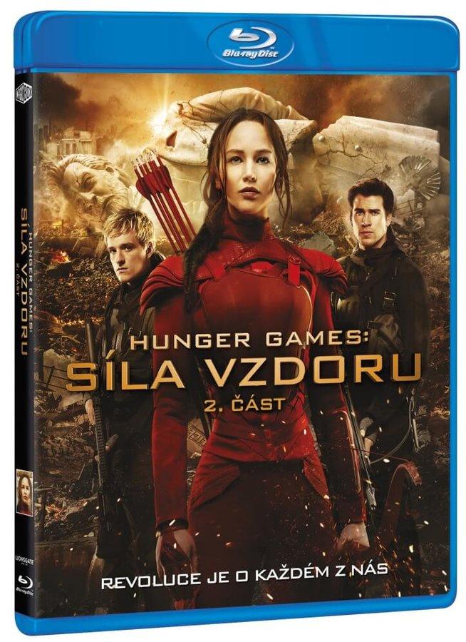 Hunger Games: Síla vzdoru - 2. část (BLU-RAY)