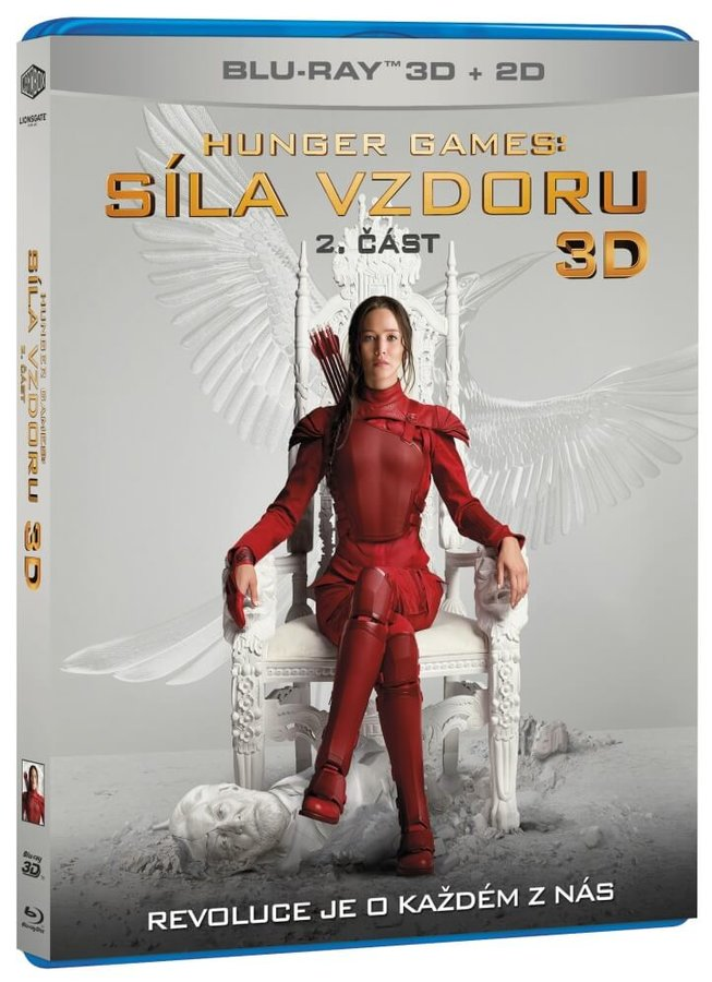 Hunger Games: Síla vzdoru - 2. část (2D+3D) (2xBLU-RAY)