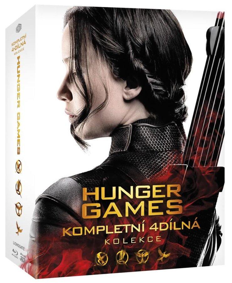 Hunger Games kolekce 1-4 (5xBLU-RAY)