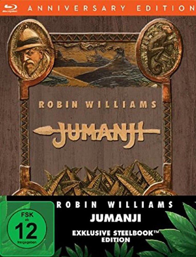 Jumanji (BLU-RAY) - STEELBOOK - DOVOZ