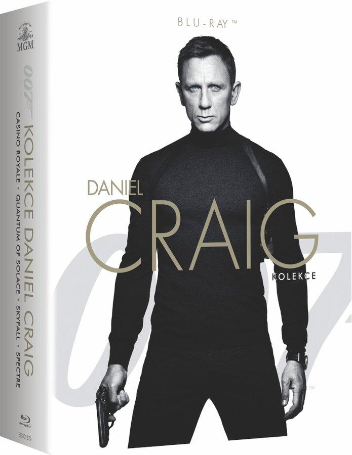 BOND - Daniel Craig - kolekce - 4xBLU-RAY