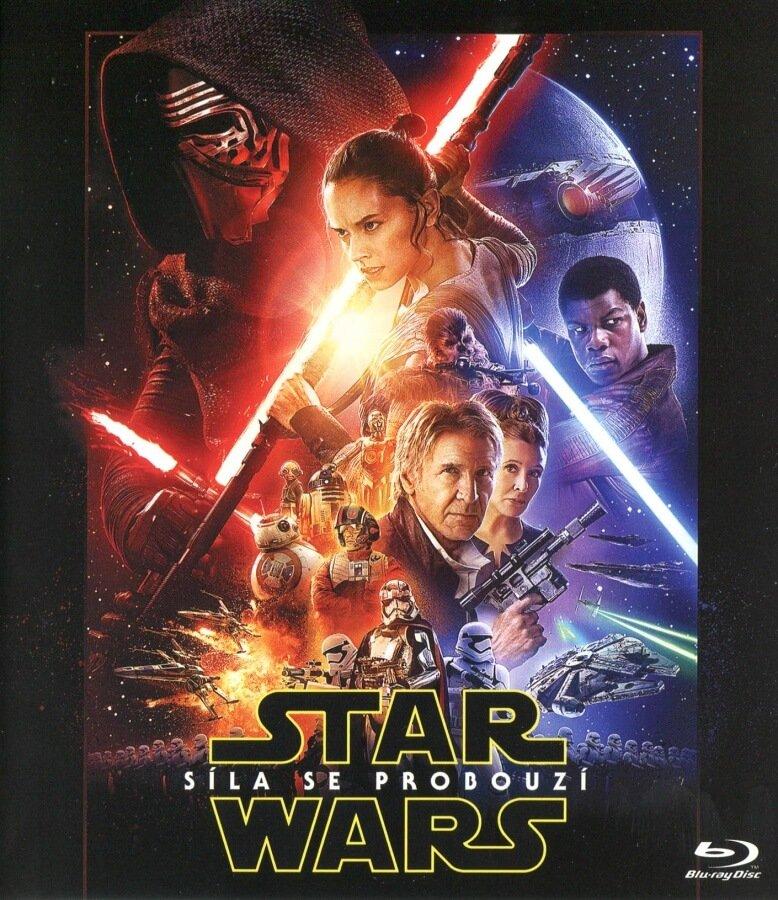 Star Wars: Síla se probouzí (2xBLU-RAY) - LIGHTSIDE - limitovaná edice