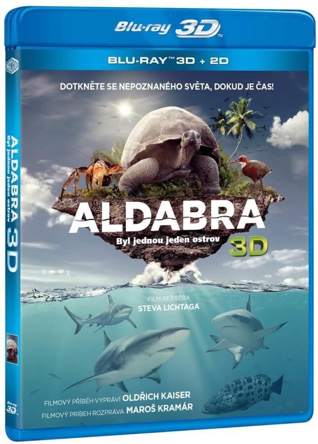 Aldabra: Byl jednou jeden ostrov (2D+3D) (BLU-RAY)