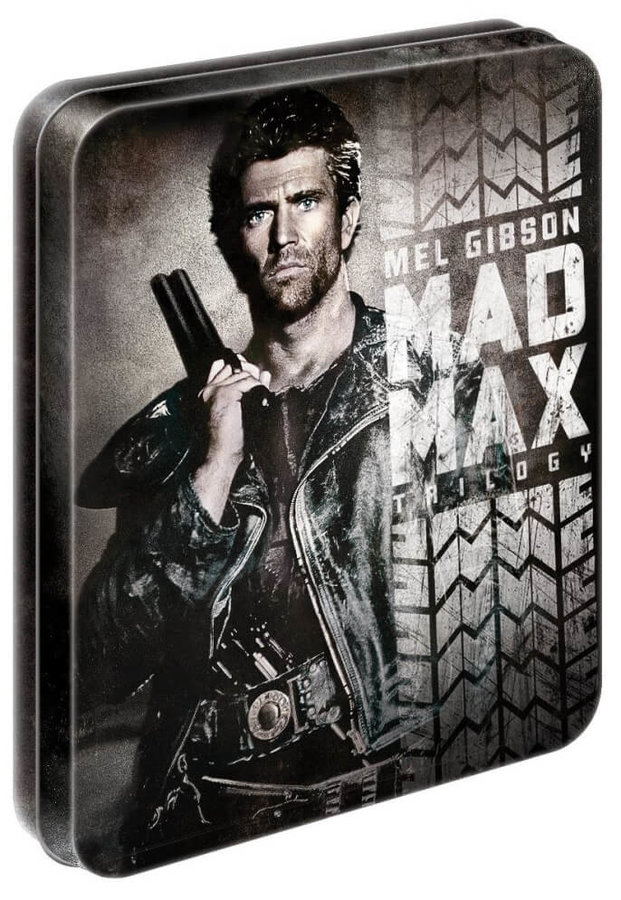 Šílený Max Kolekce 1-3 (3xBLU-RAY) - STEELBOOK - DOVOZ
