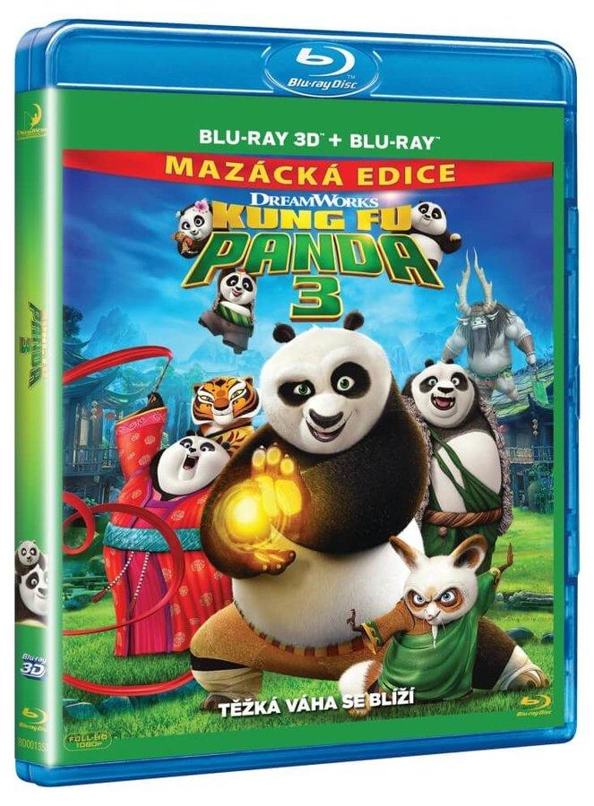 Kung Fu Panda 3 (2D+3D) (2xBLU-RAY)