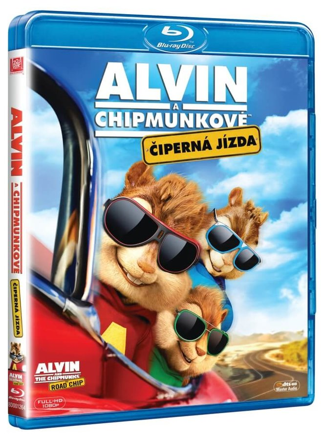 Alvin a Chipmunkové 4: Čiperná jízda (BLU-RAY)