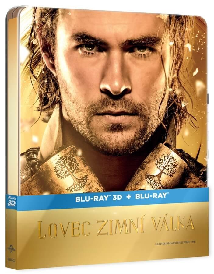 Lovec: Zimní válka (2D+3D) (2xBLU-RAY) - STEELBOOK - prodloužená verze