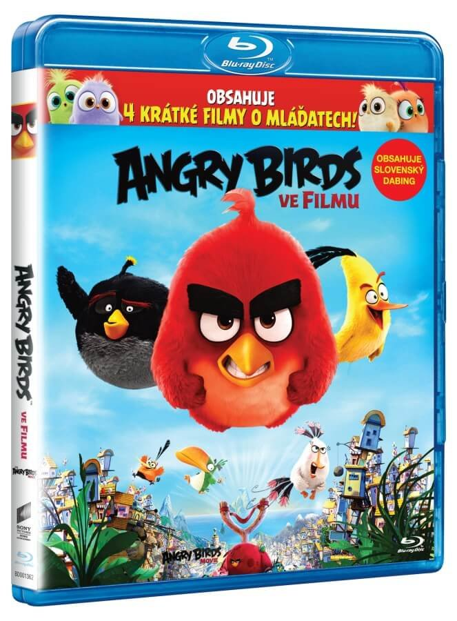 Angry Birds ve filmu (2D+3D) (2xBLU-RAY)