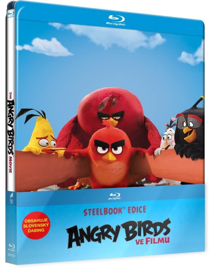 Angry Birds ve filmu (2D+3D) (2xBLU-RAY) - STEELBOOK