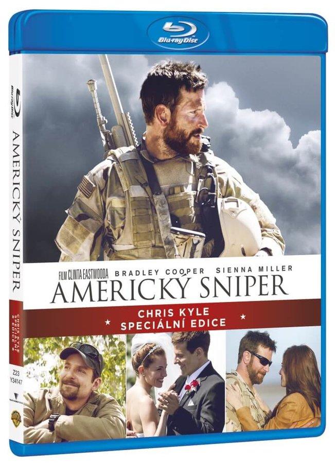 Americký sniper (2xBLU-RAY) - speciální edice