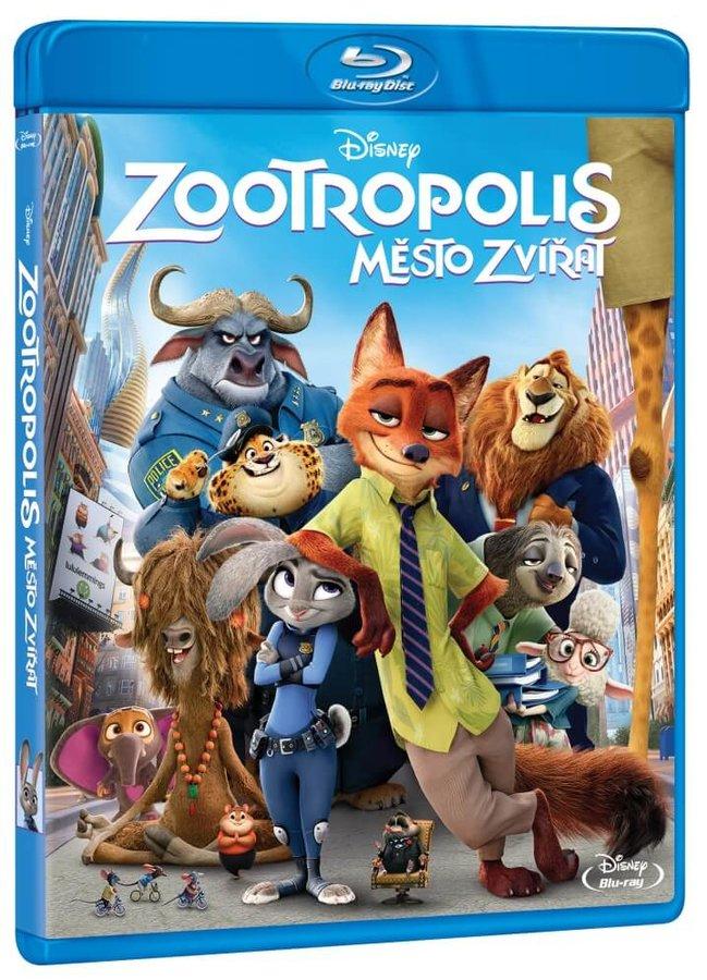 Zootropolis: Město zvířat (BLU-RAY)