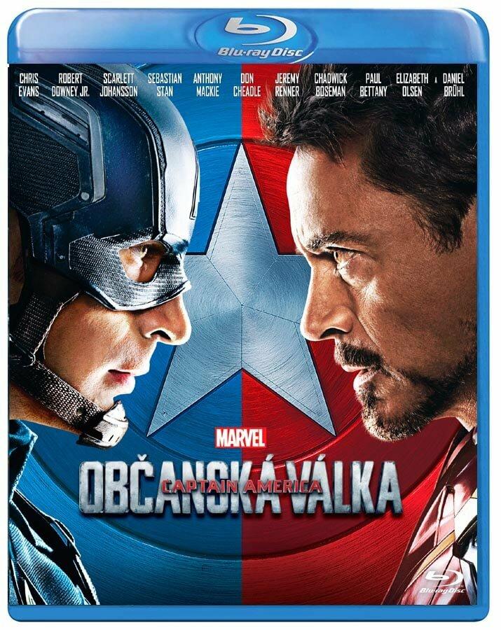 Captain America: Občanská válka (BLU-RAY)