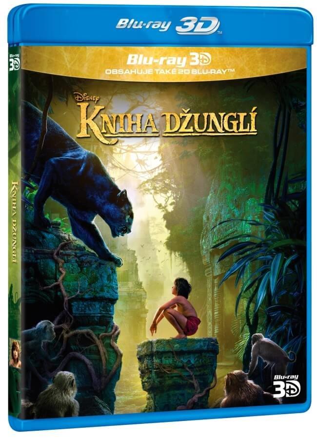 Kniha džunglí (2D+3D) (2xBLU-RAY) - nové filmové zpracování