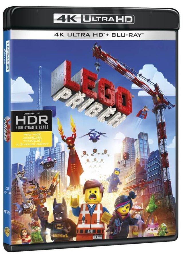LEGO příběh (4K ULTRA HD + BLU-RAY) (2 BLU-RAY)