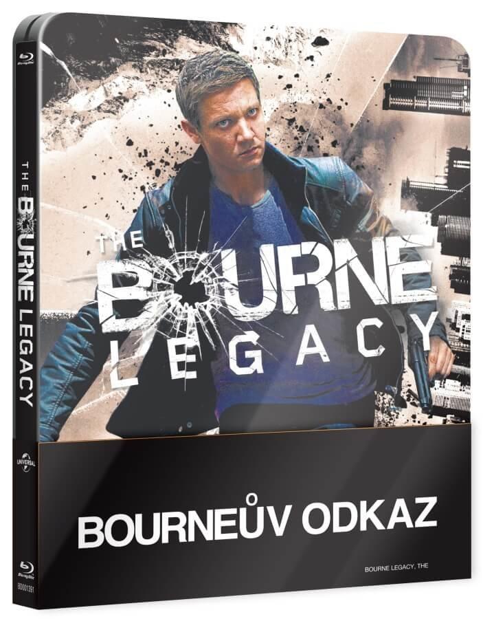 Bourneův odkaz (BLU-RAY) - STEELBOOK
