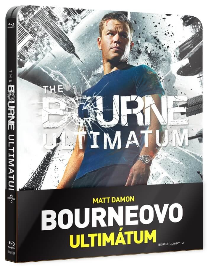 Bourneovo ultimátum (BLU-RAY) - STEELBOOK
